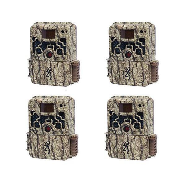 (4) Browning STRIKE FORCE HD Sub Micro Trail Cameras (10MP)