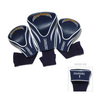 NFL San Diego Chargers Contour Wood Headcover Set