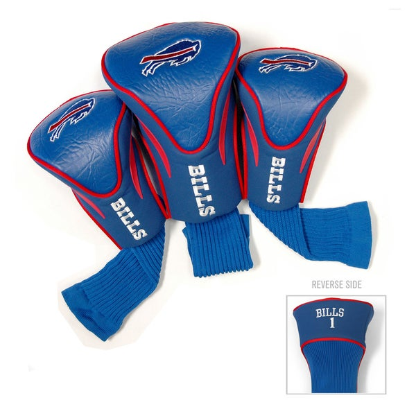NFL Buffalo Bills Contour Wood Headcover Set