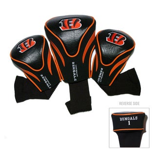 NFL Cincinnati Bengals Contour Wood Headcover Set