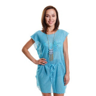 Hadari Women's Fringe Cover-Up