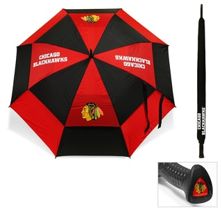 Chicago Blackhawks 62-inch Double Canopy Golf Umbrella