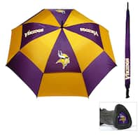 Minnesota Vikings 62-inch Double Canopy Golf Umbrella