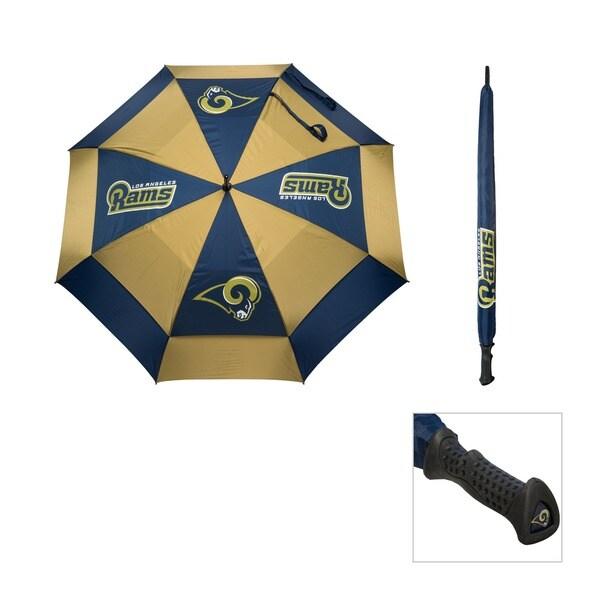 NFL Los Angeles Rams 62-inch Double Canopy Golf Umbrella