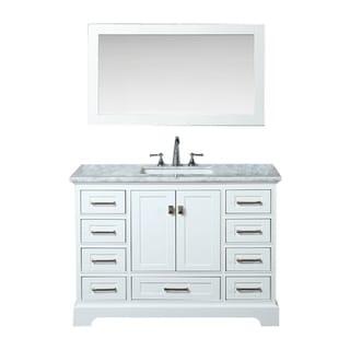 Shop Kubebath Fitto 48 Inch Double Sink Bathroom Vanity