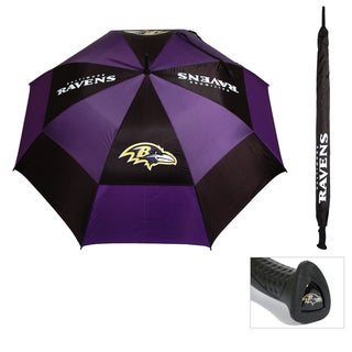 Baltimore Ravens 62-inch Double Canopy Golf Umbrella