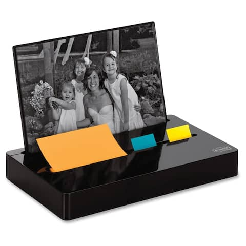 Post-it Pop-up Note/Flag Dispenser Plus Photo Frame with 3 x 3 Pad