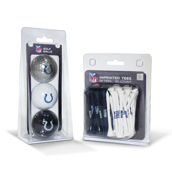 Indianapolis Colts NFL Golf Ball and Tee Set