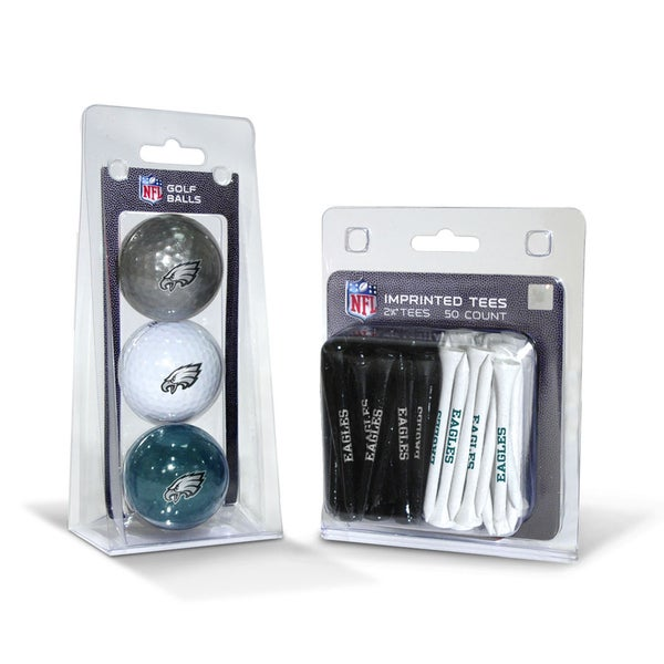 Philadelphia Eagles NFL Golf Ball and Tee Set