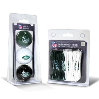 New York Jets NFL Golf Ball and Tee Set