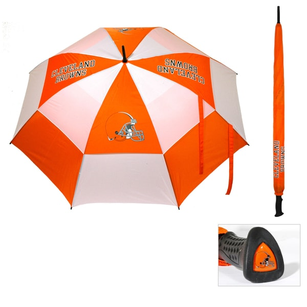 Cleveland Browns 62-inch Double Canopy Golf Umbrella