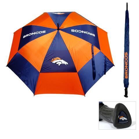 NFL Denver Broncos 62-inch Double Canopy Golf Umbrella