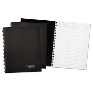 Cambridge Limited Black Action-Planner Business Notebook Plus Pack (Pack of 3)