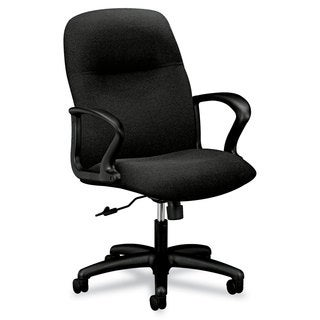 HON Gamut Series Black Managerial Mid-Back Swivel/Tilt Chair