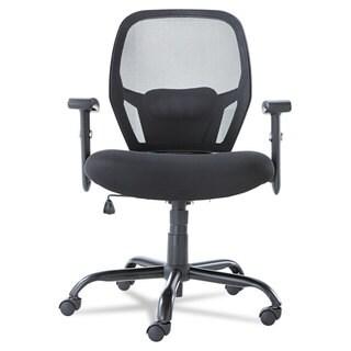 Alera Merix450 Series Black Mesh Big/Tall Mid-Back Swivel/Tilt Chair