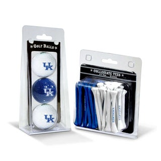 Kentucky Wildcats NCAA Golf Ball and Tee Set