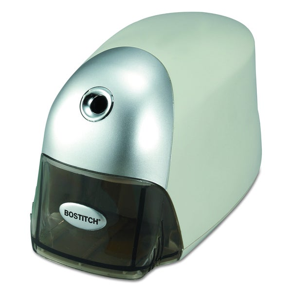 Bostitch QuietSharp Executive Electric Gray Pencil Sharpener. Opens flyout.