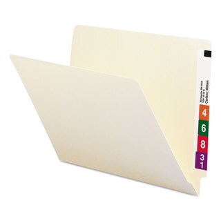 Smead Manila Shelf Folders (Box of 100)