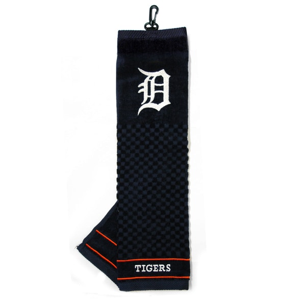 MLB Detroit Tigers Embroidered Golf Towel