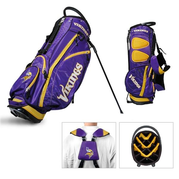Minnesota Vikings NFL Fairway Stand Golf Bag