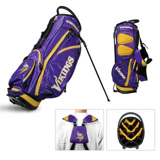 Minnesota Vikings NFL Fairway Stand Golf Bag