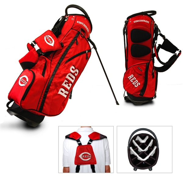 Cincinnati Reds MLB Fairway Stand Golf Bag