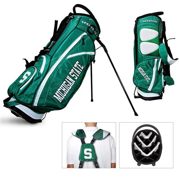 Michigan State Spartans NCAA Fairway Stand Golf Bag