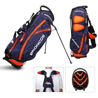 Denver Broncos NFL Fairway Stand Golf Bag
