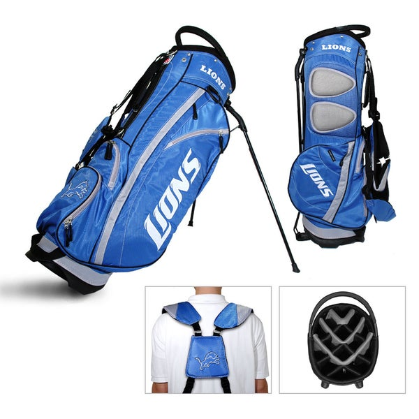 Detroit Lions NFL Fairway Stand Golf Bag