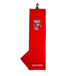 NCAA Wisconsin Badgers Embroidered Golf Towel