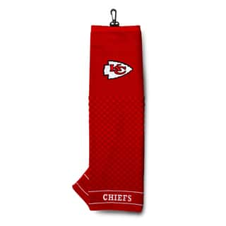 NFL Kansas City Chiefs Embroidered Golf Towel|https://ak1.ostkcdn.com/images/products/10310279/P17422401.jpg?impolicy=medium