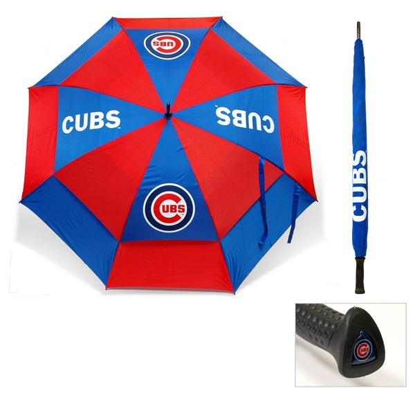 MLB Chicago Cubs 62-inch Double Canopy Golf Umbrella