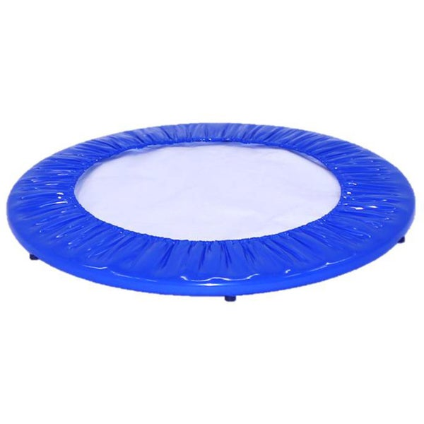 10 12 14ft Round Safety Frame Blue Pad Spring Pad: Upper Bounce Blue 44-inch Mini Round Trampoline