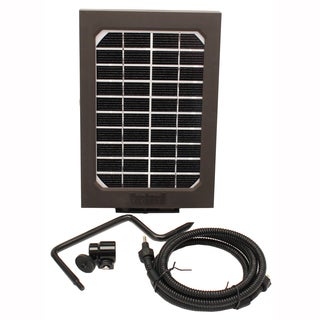 Bushnell Trophy Cam HD Brown Solar Panel Clam