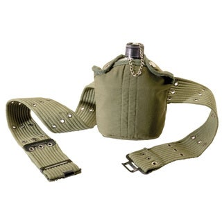 Tex Sport Canteen/ Belt Set Aluminum