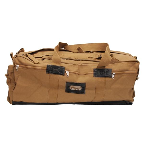 Tex Sport Canvas Tactical Bag Coyote