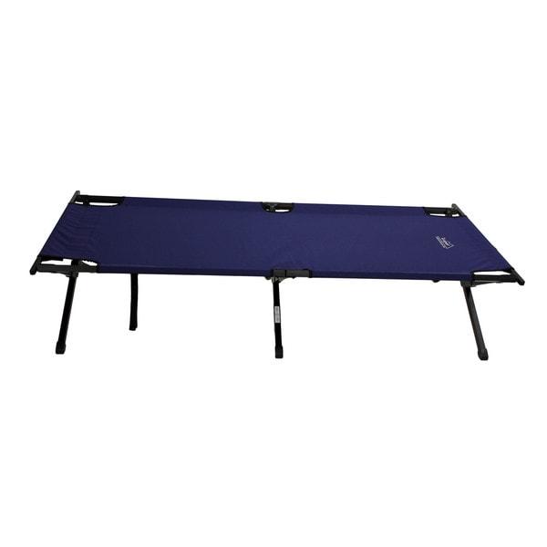 Tex Sport Cot Large Folding Steel