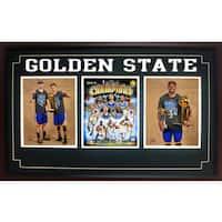 15x35 Three Photo Frame - 2015 NBA Champions Golden St. Warriors