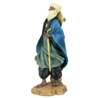 Handmade Tuareg Shepherd Polyresin Figurine (China)