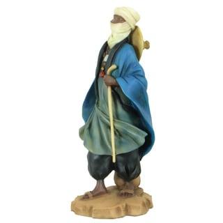 Handmade Tuareg Shepherd Polyresin Figurine