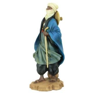 Handmade Tuareg Shepherd Polyresin Figurine (China)
