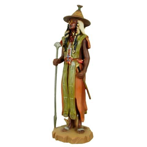 Handmade Peul Warrior Polyresin Figurine (China)
