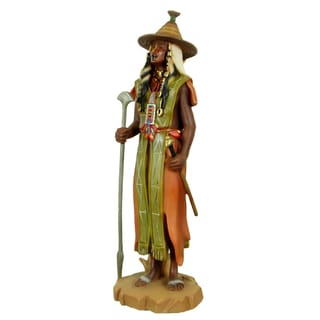 Handmade Peul Warrior Polyresin Figurine