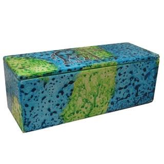Bahari Elephant Soapstone Pencil Box (Kenya)