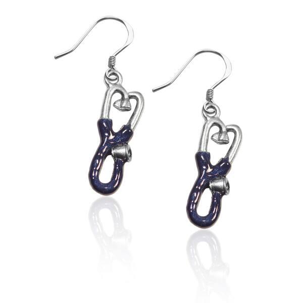 Stethoscope Dangle Earrings