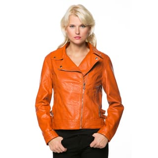 Overstock faux leather jacket