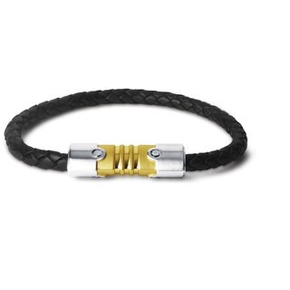 Tonino Lamborghini Anima Leather Bracelet