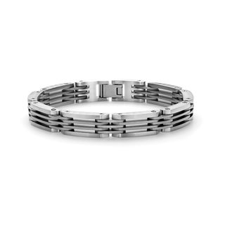 Tonino Lamborghini Motore Stainless Steel Men's Bracelet