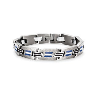 Tonino Lamborghini Corsa Blue Men's Bracelet