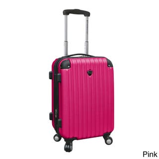 92d0dac99ce Travelers Club Chicago 20-inch Expandable Hardside Carry-on Upright Suitcase